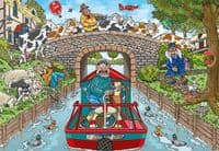 Wasgij Original 33 - Calm on the Canal |Yorkshire Jigsaw Store